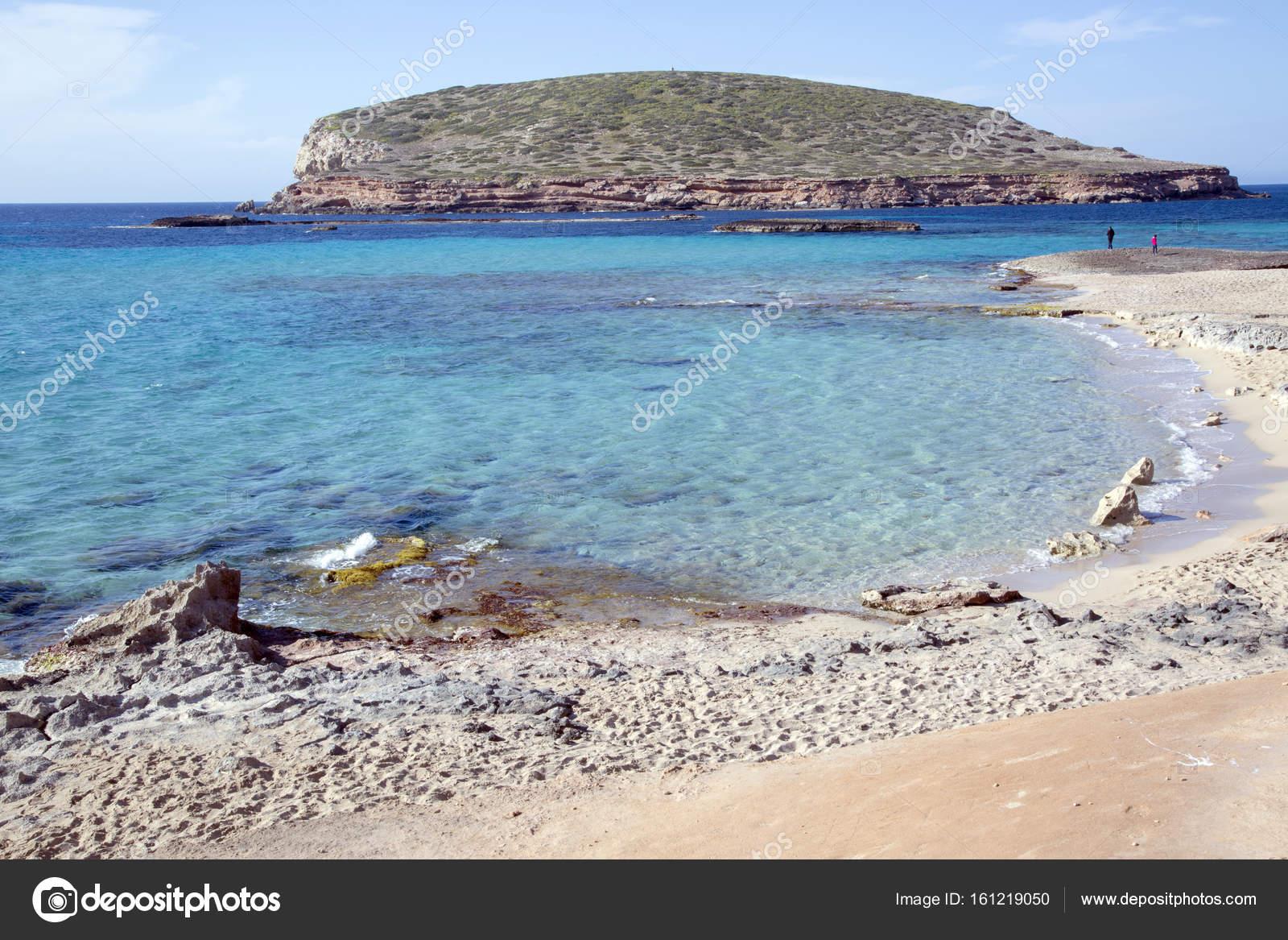 Comte Beaches, Ibiza, Spain — Stock Photo © kevers #161219050