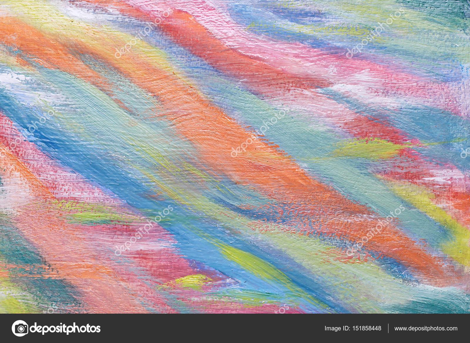 Dibujos Paisajes Dibujados Con Colores Calidos Original Pintura