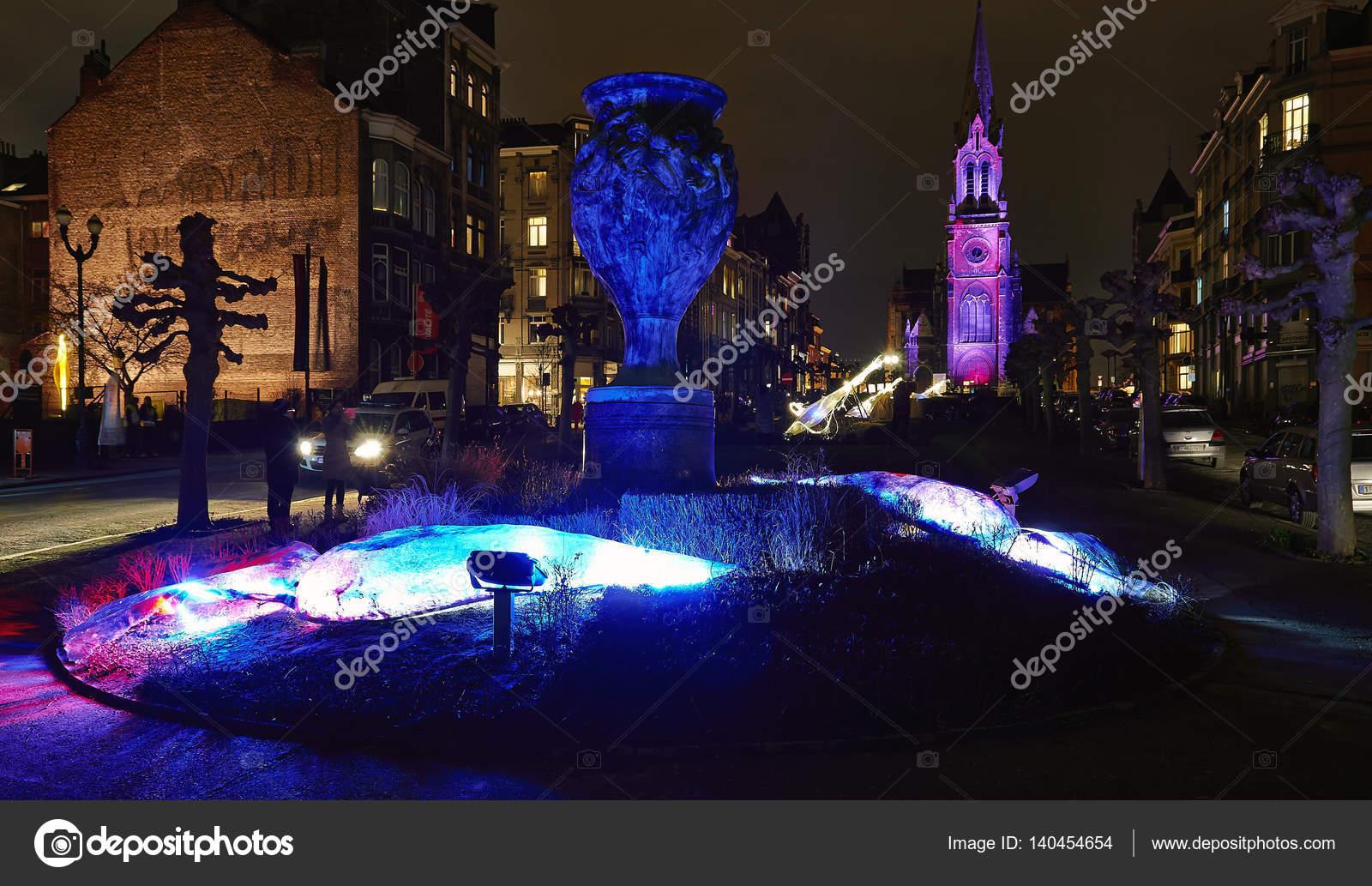 Gemeente Schaarbeek in Brussel verlichten met verlichting ...