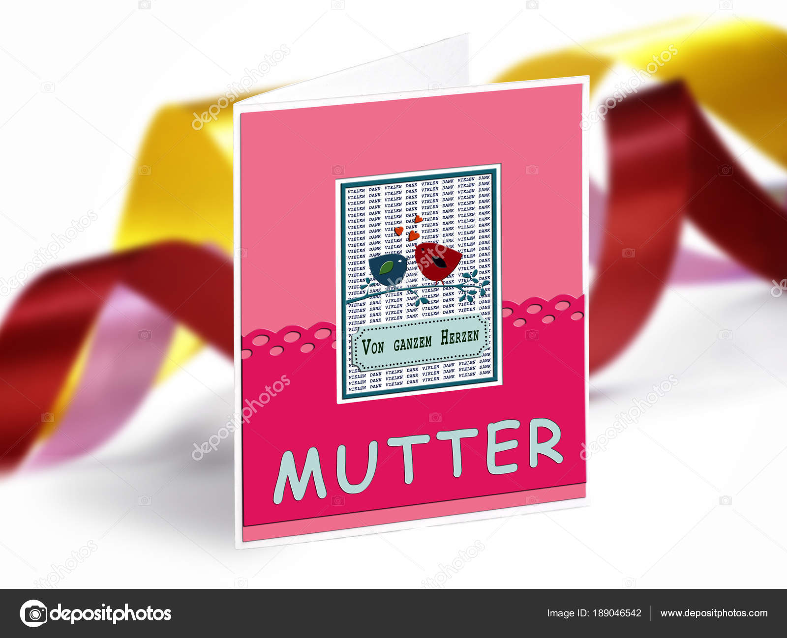 Greetings card for the mother day in deutsch text stock photo greetings card for the mother day in deutsch text stock photo m4hsunfo