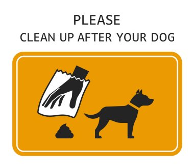 Sign Clean up after your dog
