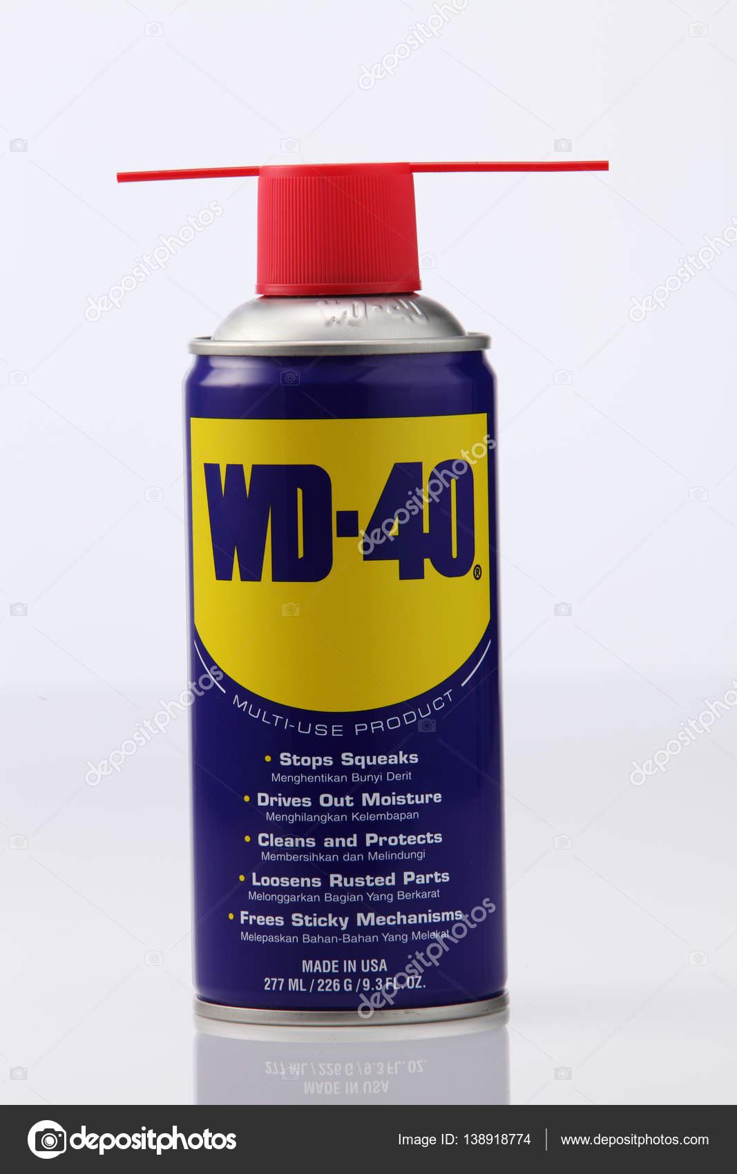 Gut WD-40 Öl-spray — Redaktionelles Stockfoto #138918774 UT52