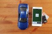 Mobilní aplikace Uber