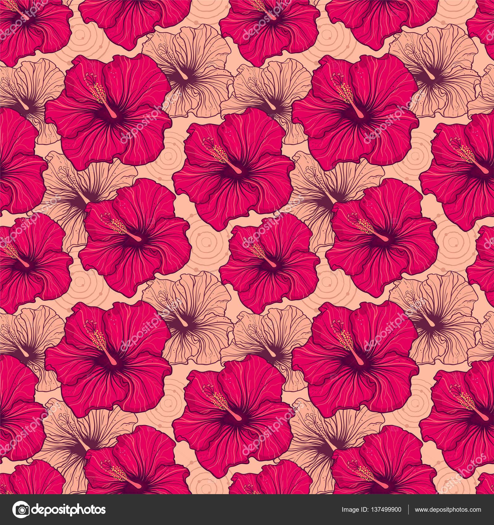 Hand drawn hibiscus flowers stock photo kiyanochka 137499900 hand drawn hibiscus flowers stock photo izmirmasajfo