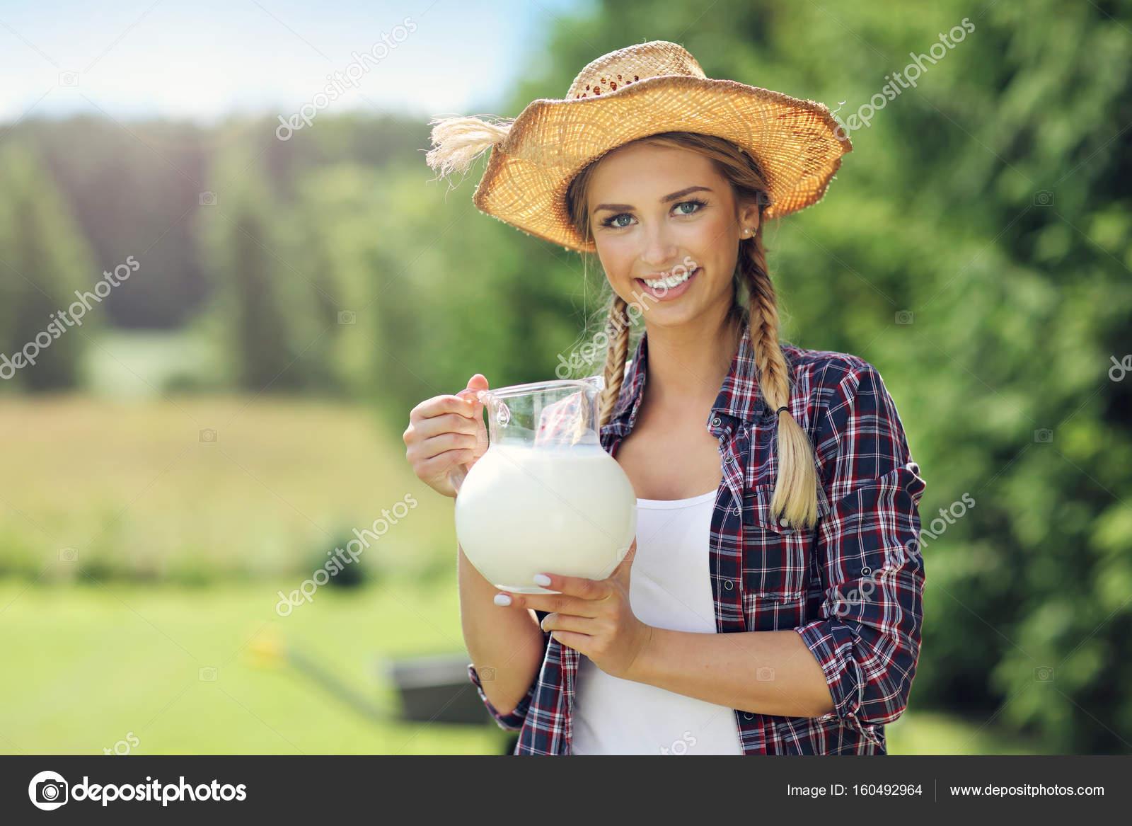 Girls young farm 'Farm Girl