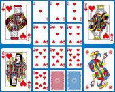Fényképek Szívek Suite játékkártya francia stílus