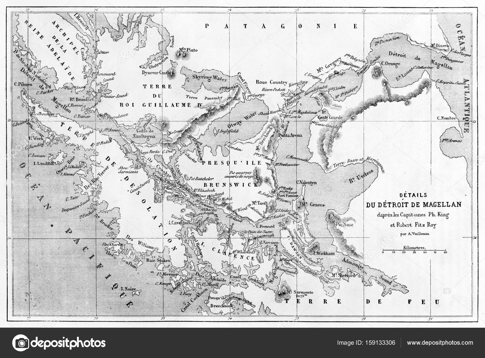 Black and white vintage map | Strait of Magellan old map ... on da vinci map, da gama map, ibn battuta map, pendragon map, google map, genesis map, zheng he map, palm map, lacrosse map, william clark map, sir francis drake map, henry the navigator map, tricare map, bartholomew dias map, asia map, llanos south america map, world map, strait of magellen map, columbus map, tomtom map,