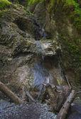 Photo Mountain waterfall in Slovak Paradise