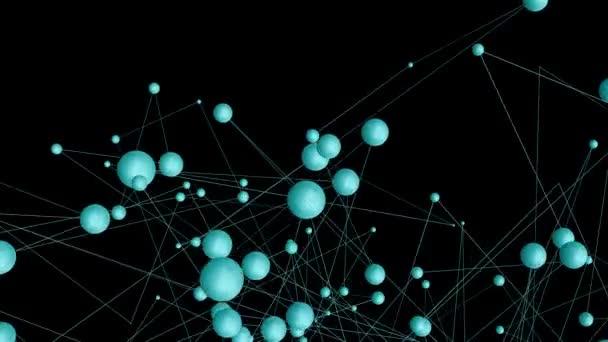 Abstraktes Hintergrundnetzwerk und Internetkonzept