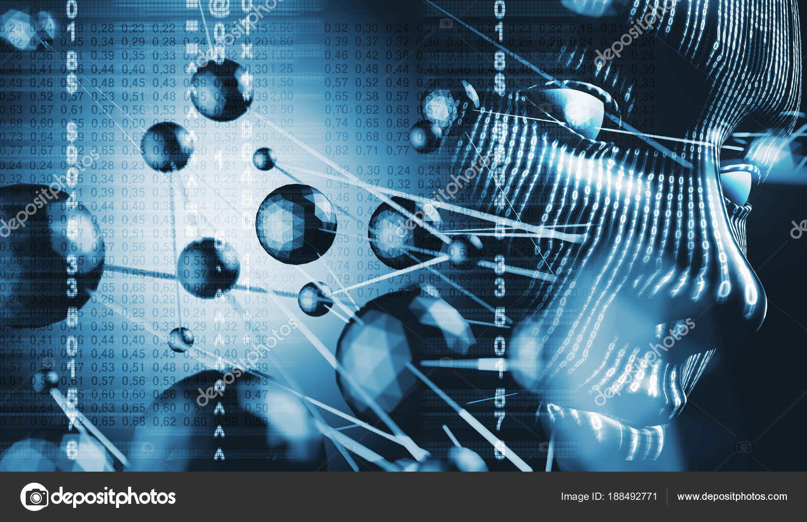 Binary Code And Cyberspace Concept Stock Photo Carloscastilla Abstact Background With Circuit Board Images