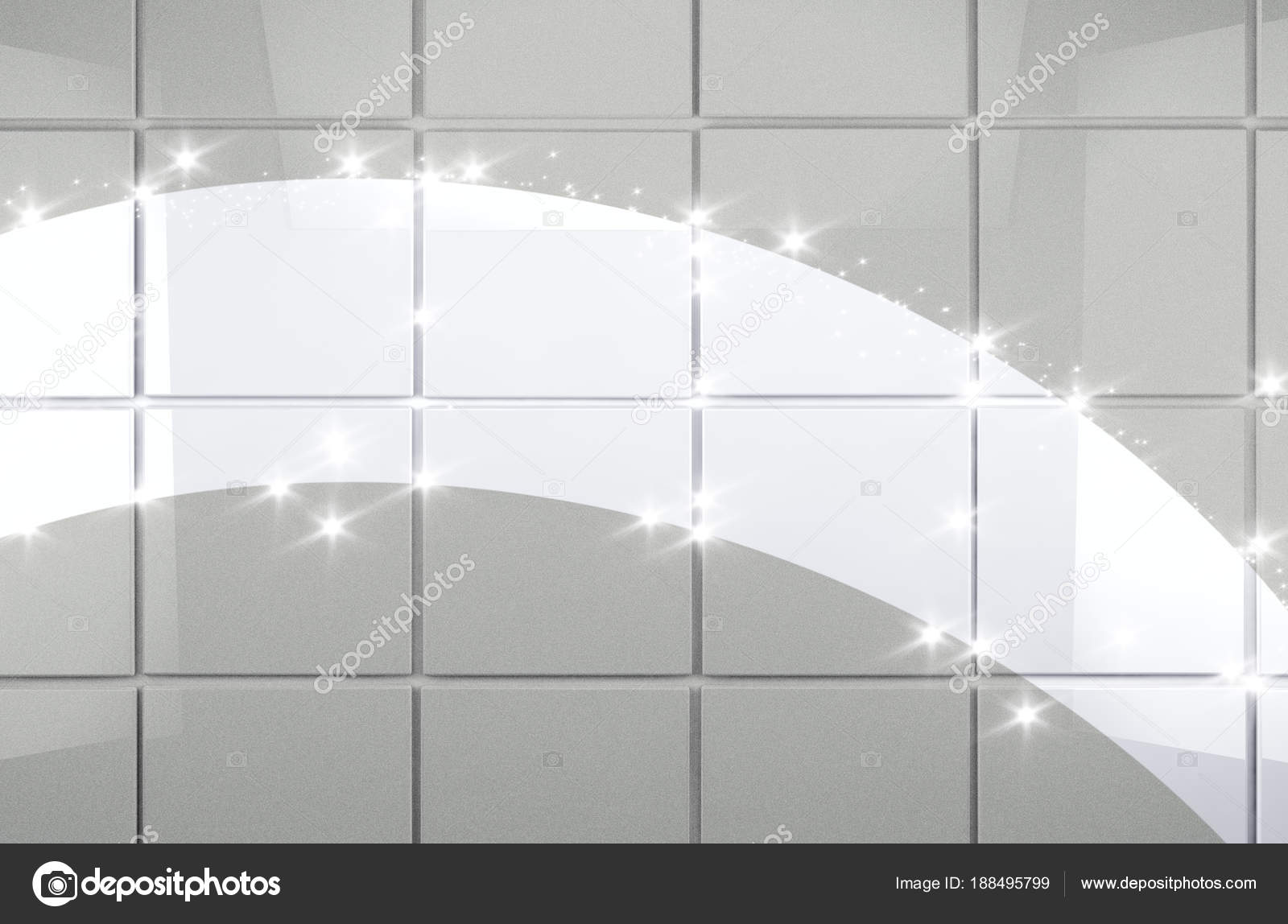 Clean tile wall bathroom background — Stock Photo © carloscastilla ...