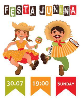 Festa Junina party poster