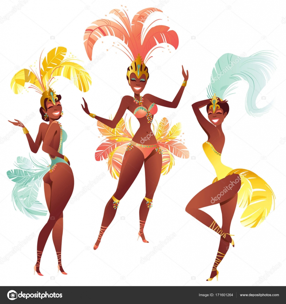 Горячие бразильские красотки танцуют самбо — photo 15
