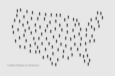 USA Map. United States Map.