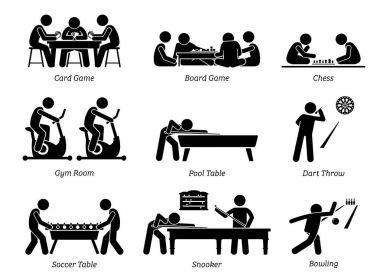 Indoor Club Games and Recreational Activities.