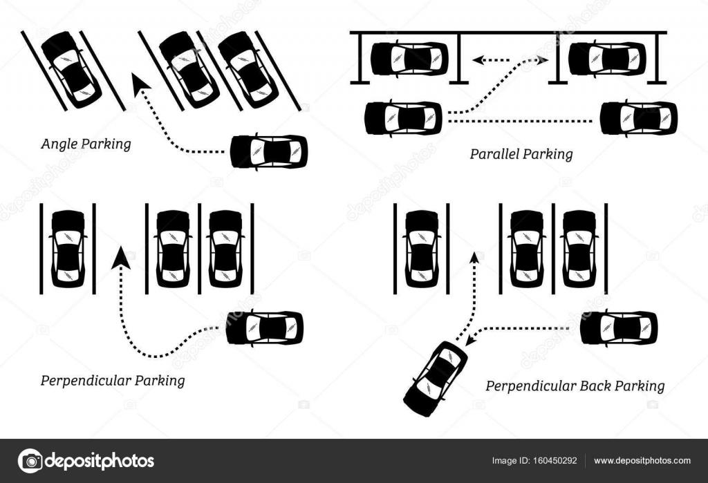 Awesome Wege Und Parkplatze Stockvektor C Leremy 160450292 Wiring 101 Mecadwellnesstrialsorg