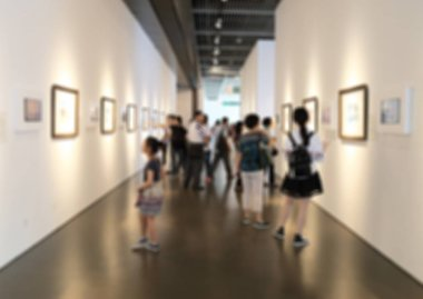 """Картина, постер, плакат, фотообои """"художественная выставка"""", артикул 133427136"""