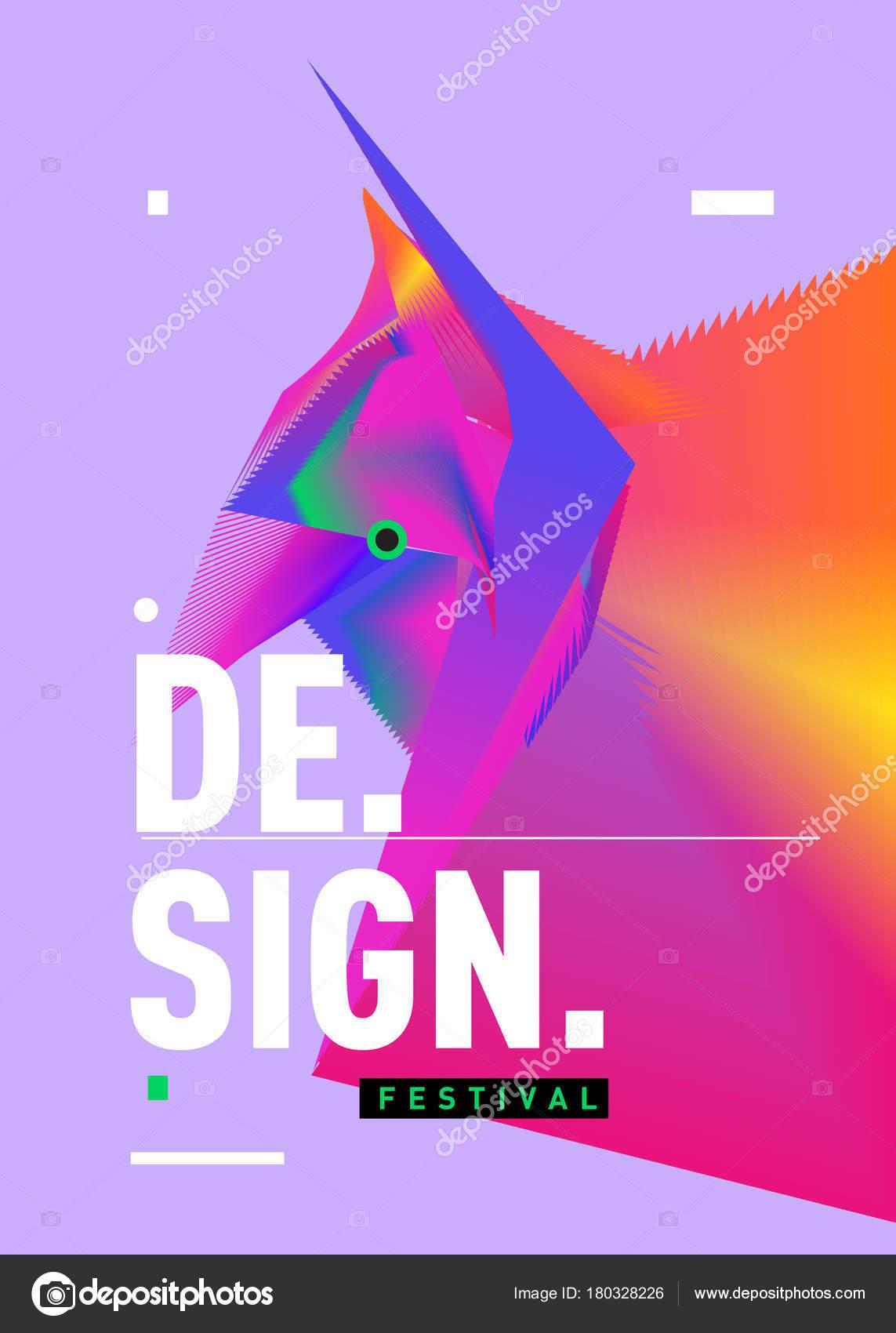 Vektor Der Geometrische Formen Dreieck Moderne Info Banner Abstrakt ...