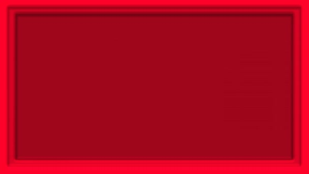 Red and black frame template footage video motion graphic. Can use for backdrop stage, bumper, video clip, social media story