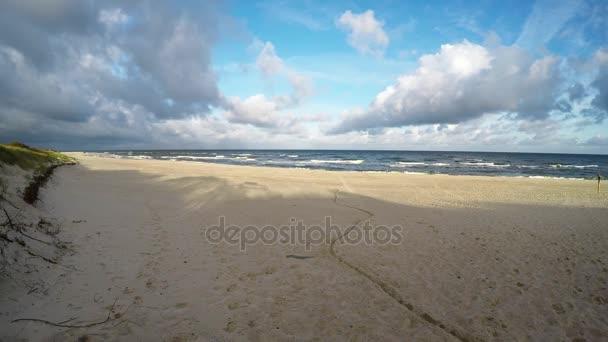 Strand der Ostsee in Poand