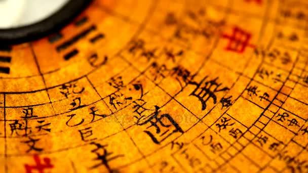 Starožitný kompas čínského Feng Shui