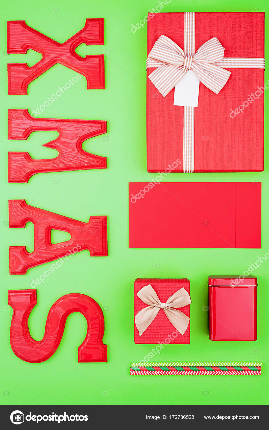 christmas festive mockup in red and green colors stock photo - Why Are Red And Green Christmas Colors