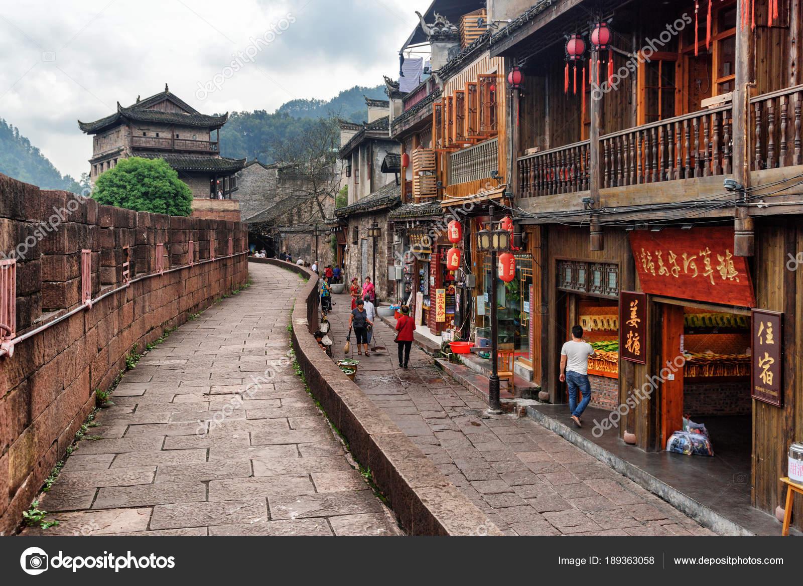 Street With Souvenir Shops And Restaurants Phoenix Ancient