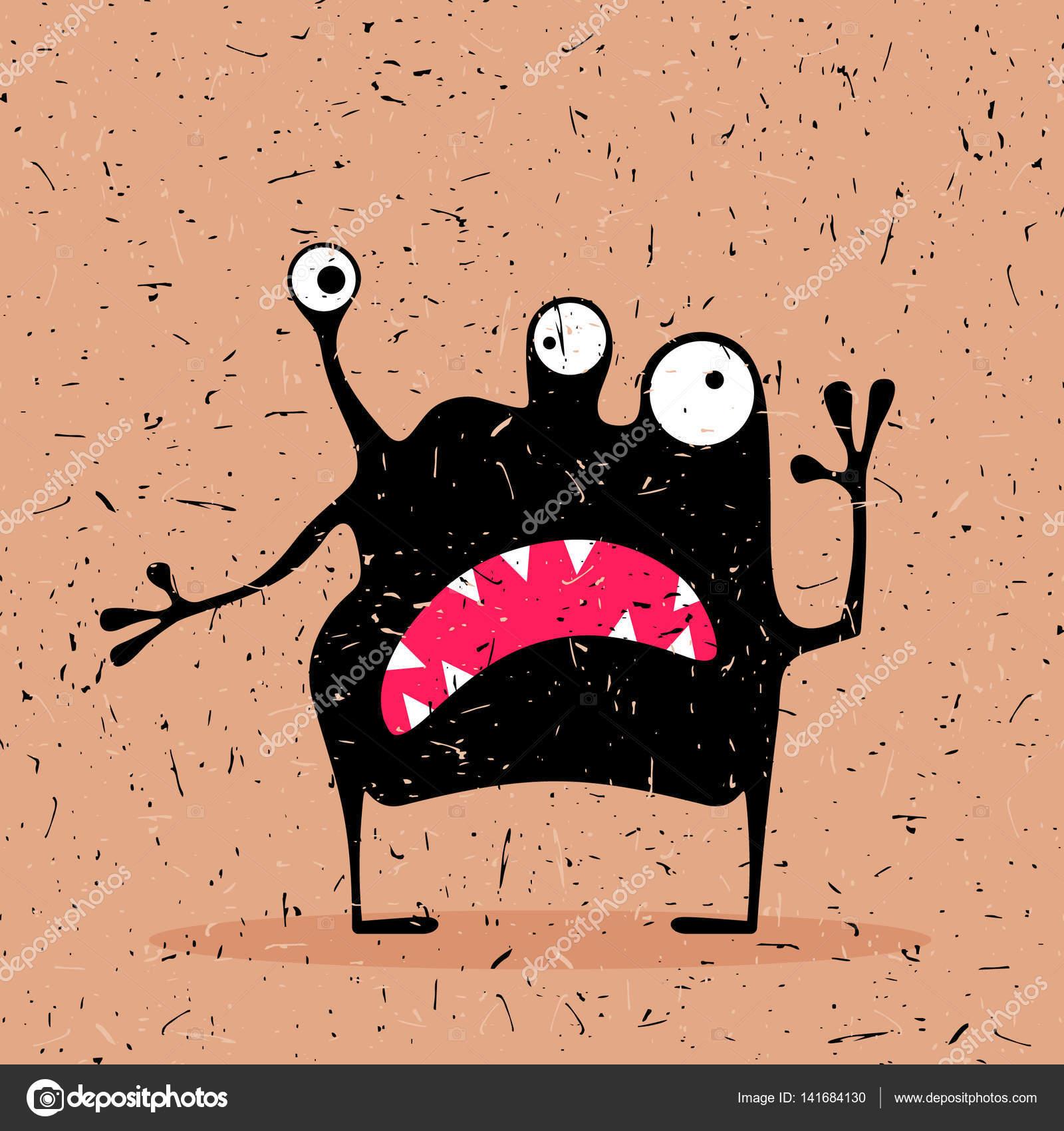 Monster svart