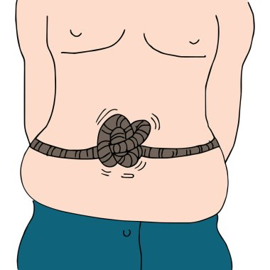 Knotted Stomach Man