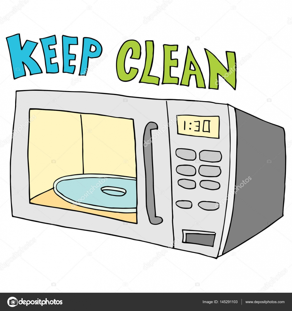 Please Keep The Microwave Clean Just B Cause