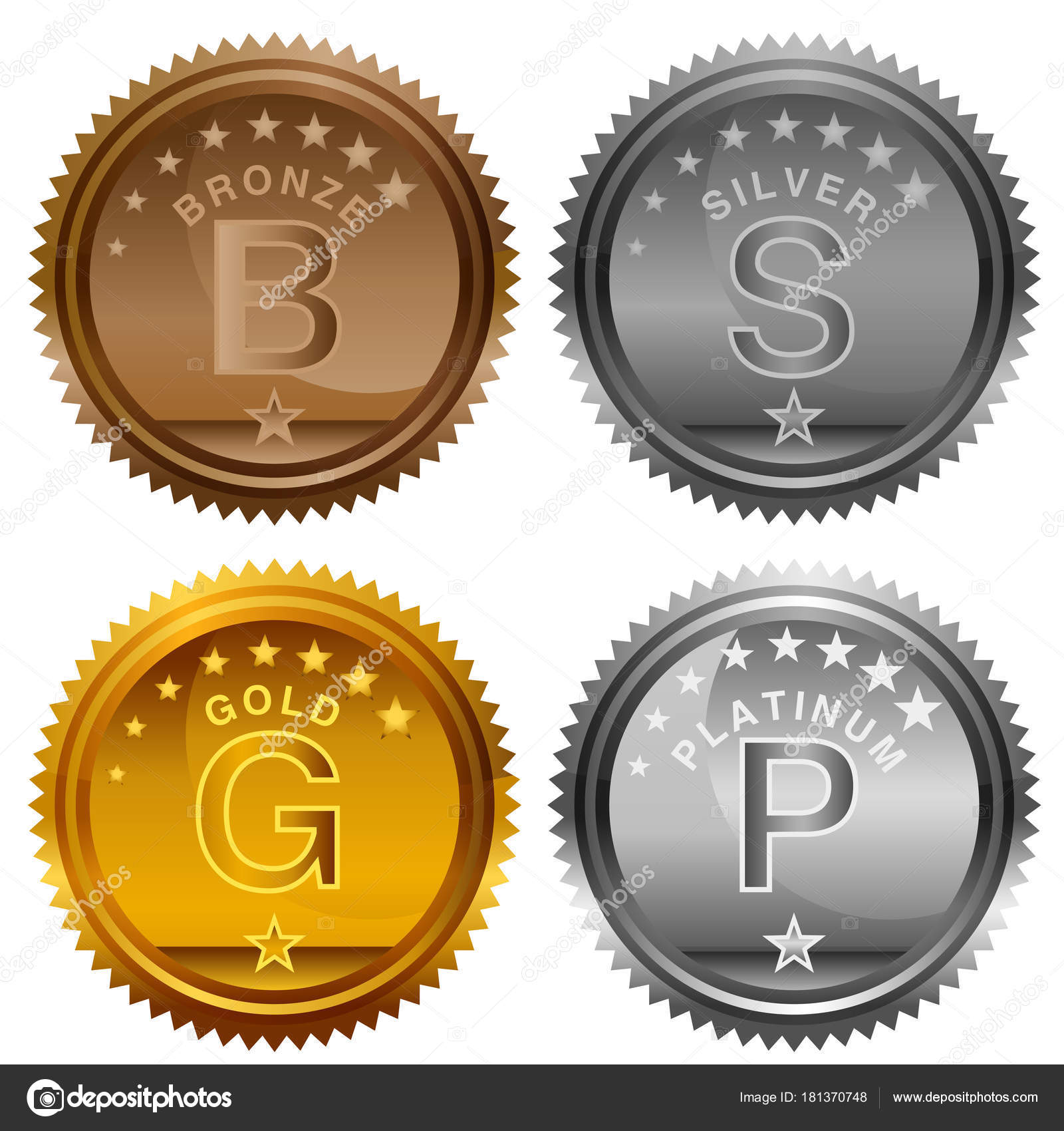 gold coin platinum and included illustration rendering path made photo stock of bit futuristic image