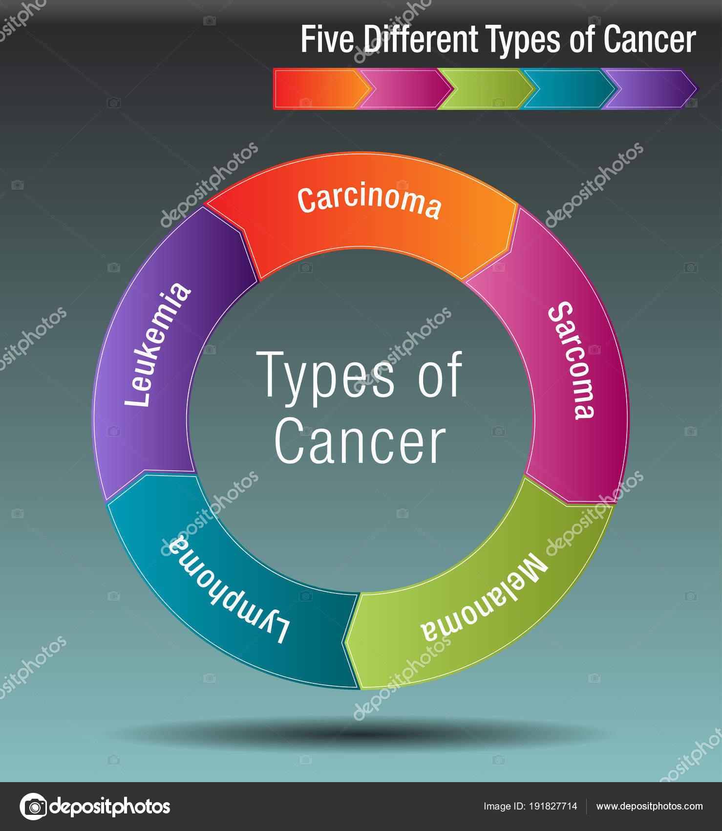 Cinque diversi tipi di cancro vettoriali stock cteconsulting 191827714 - Diversi tipi di figa ...