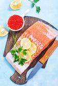 Syrové lososí výseč