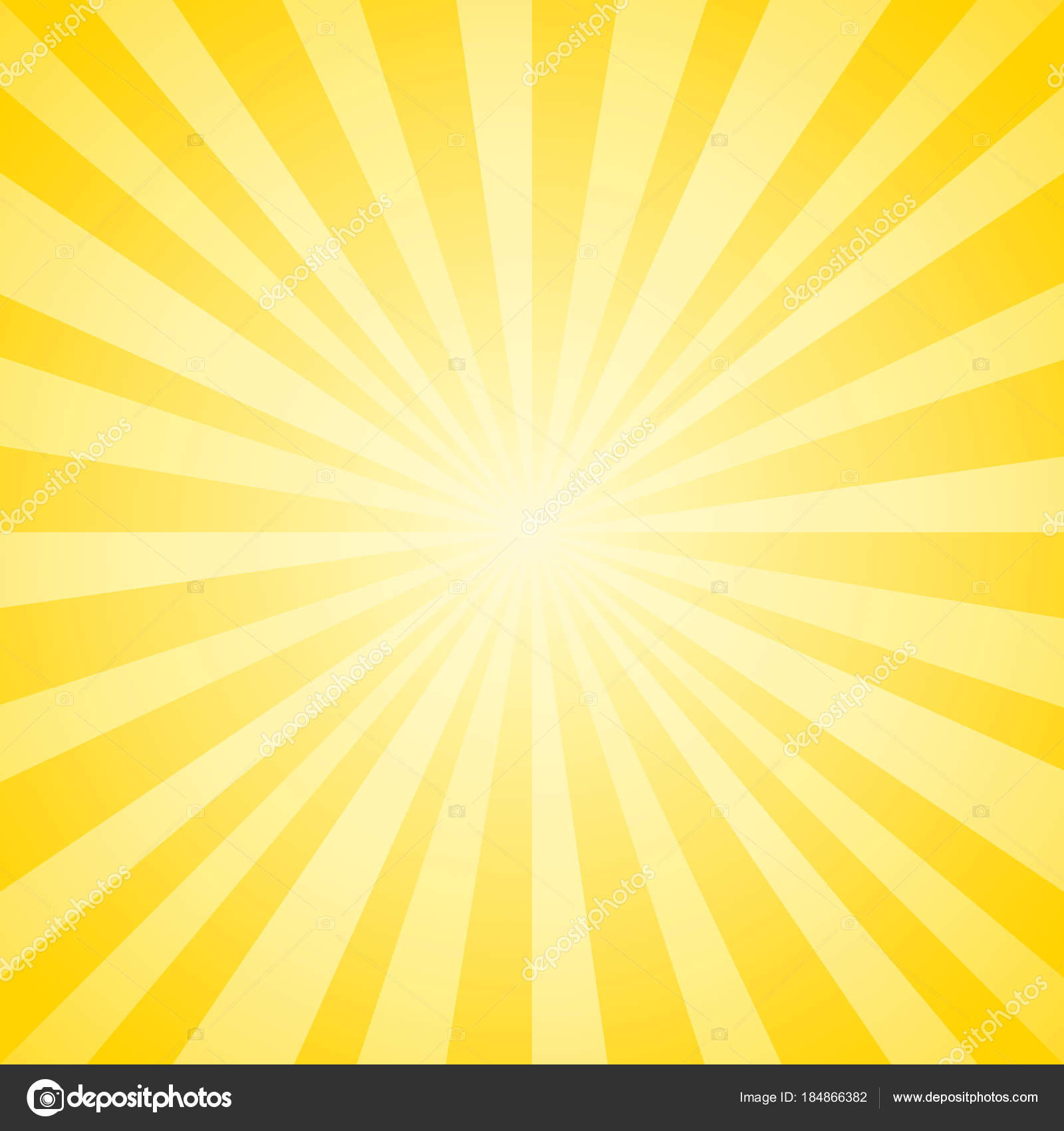 abstract soft yellow rays background vector eps cmyk