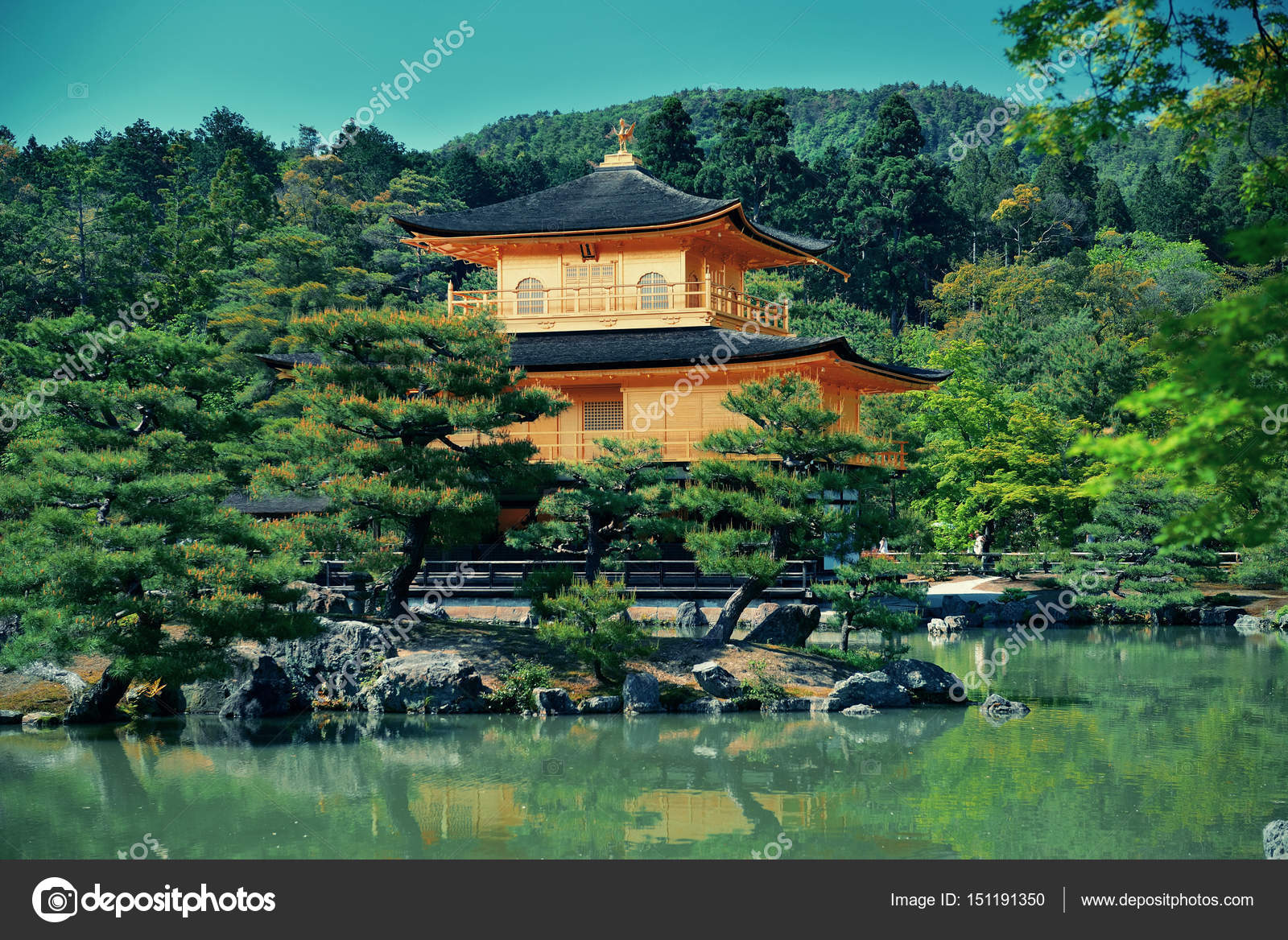 京都市の歴史的建造物 \u2014 ストック写真