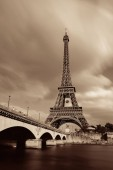 Eiffel Towerand River Seine Paris, Franciaország