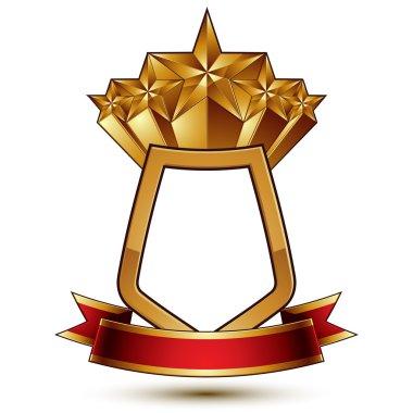3d classic royal symbol