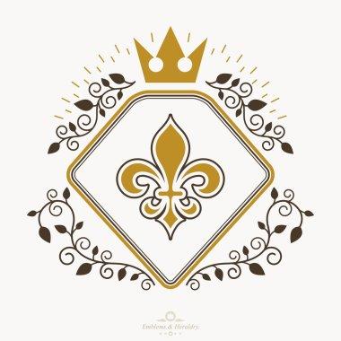 Heraldic sign, element, heraldry emblem