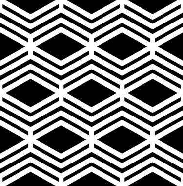 Abstract textured geometric seamless pattern
