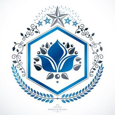 Vintage heraldic design.