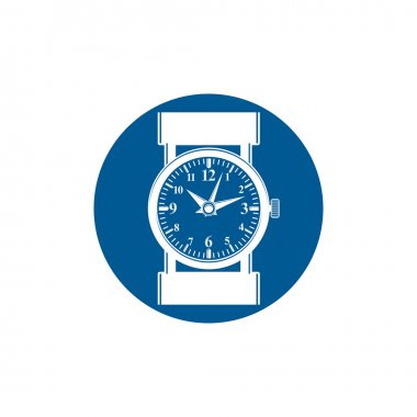 Graphic pocket watch icon