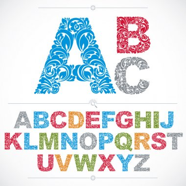 Ecology alphabet capital letters