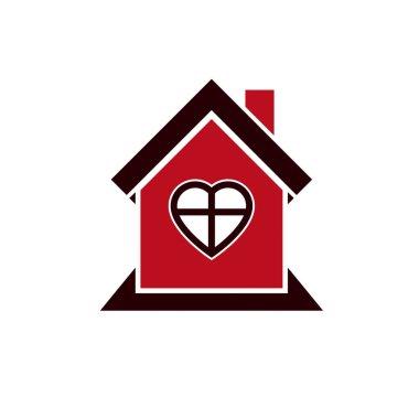 house, real estate icon logo