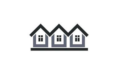 homes, houses logo