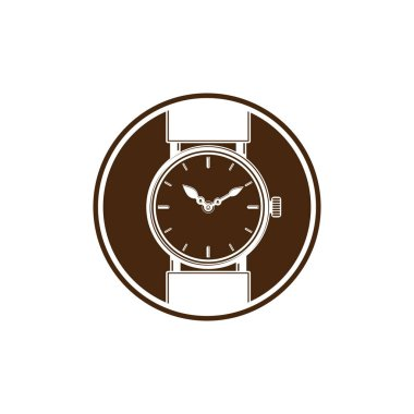 Simple wristwatch graphic