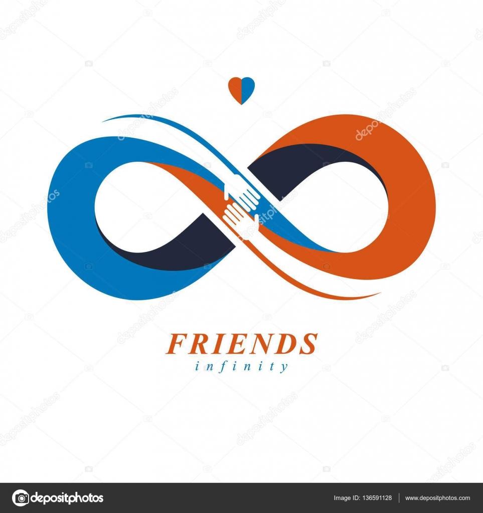 Symbols Similar To Infinity Vector Infinity Sign Heart