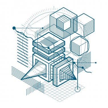 Engineering three dimensional construction