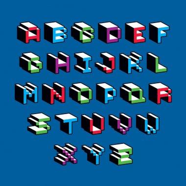 typescript created in 8 bit style