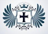 Fotografie Heraldic emblem icon