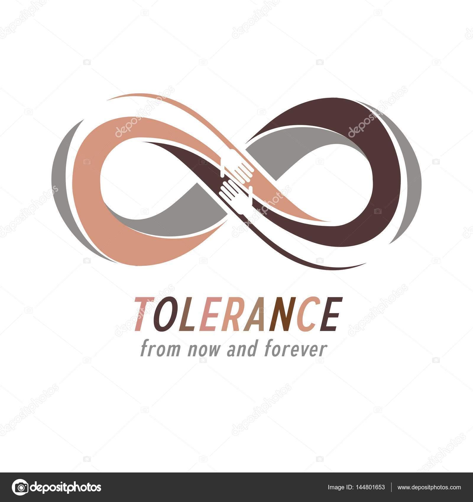 Racial Tolerance Conceptual Symbol Stock Vector Ostapius 144801653